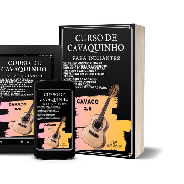 Imagem principal do produto CURSO DE CAVAQUINHO 2.0