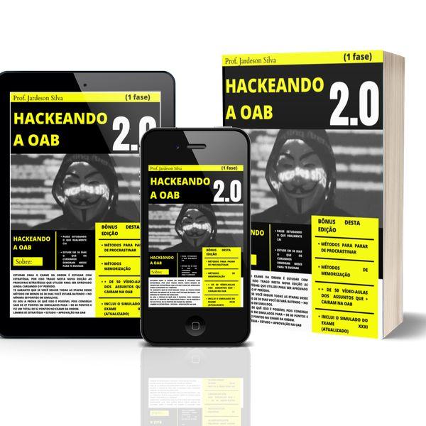 Imagem principal do produto HACKEANDO A OAB 2.0 ( 1 FASE )