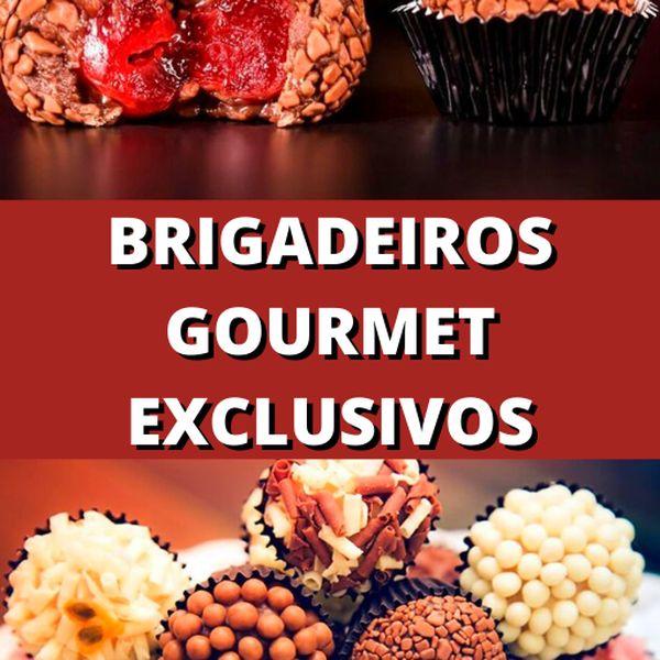 Imagem principal do produto BRIGADEIROS GOURMET PRÁTICOS E FINOS