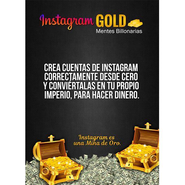 Imagem principal do produto Instagram Gold - MentesBillonarias
