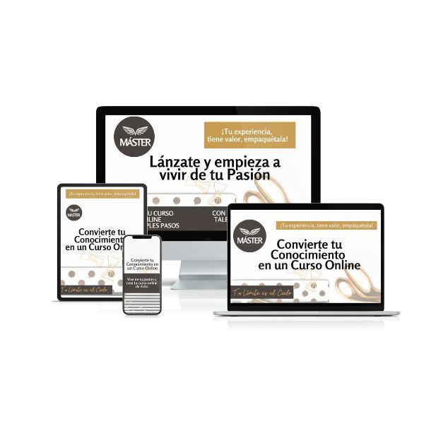 Imagem principal do produto Lanza y Vive de tu Método Online en 60 días.