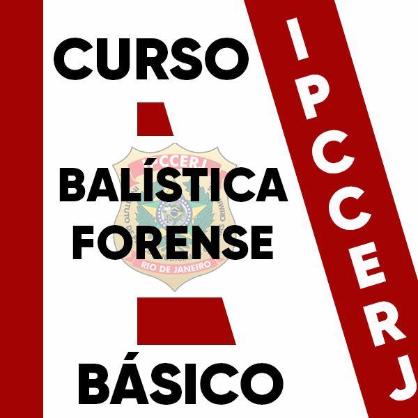Imagem principal do produto CURSO DE BALÍSTICA FORENSE - BÁSICO