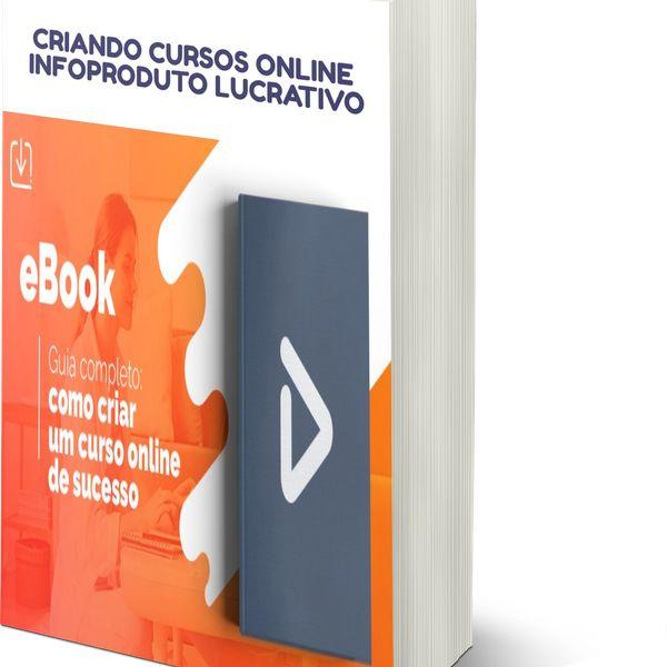 Imagem principal do produto CRIANDO CURSOS ONLINE INFOPRODUTOS LUCRATIVO