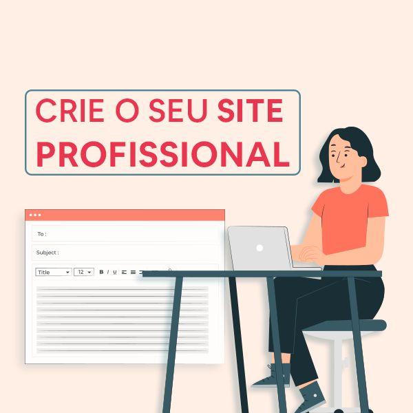 Imagem principal do produto Crie seu site profissional