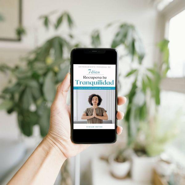 Imagem principal do produto Ebook Recupera tu Tranquilidad