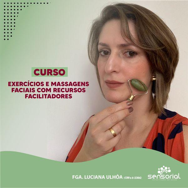 Imagem principal do produto Exercícios e massagens faciais com recursos facilitadores