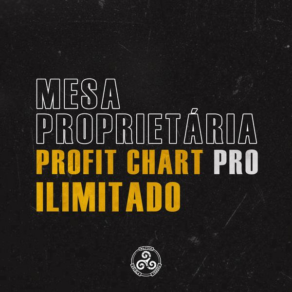Imagem principal do produto Mesa proprietária Alpha - ProfitChart PRO Ilimitado