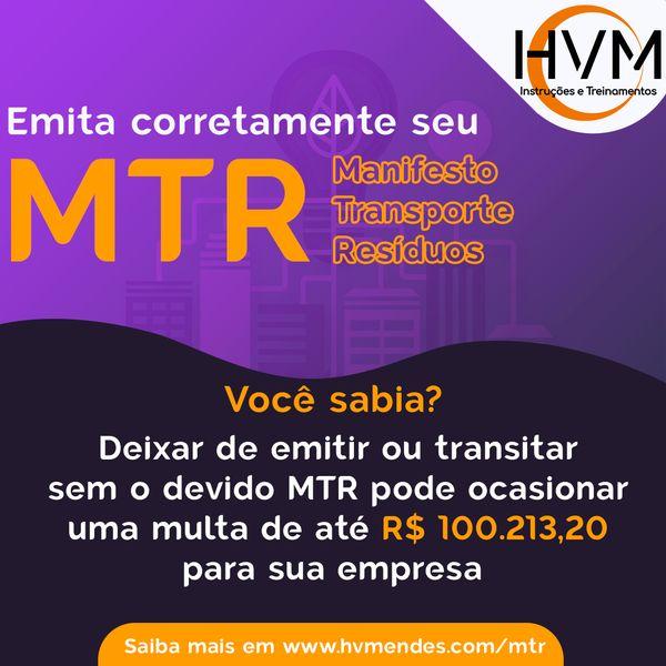 Imagem principal do produto MTR - Aprenda a PREENCHER e EMITIR