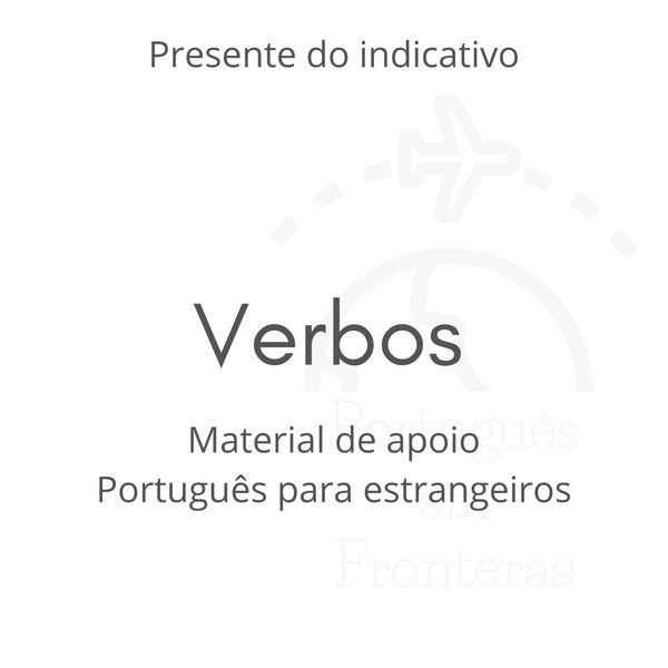 Imagem principal do produto Guía práctica de verbos en portugués: presente indicativo