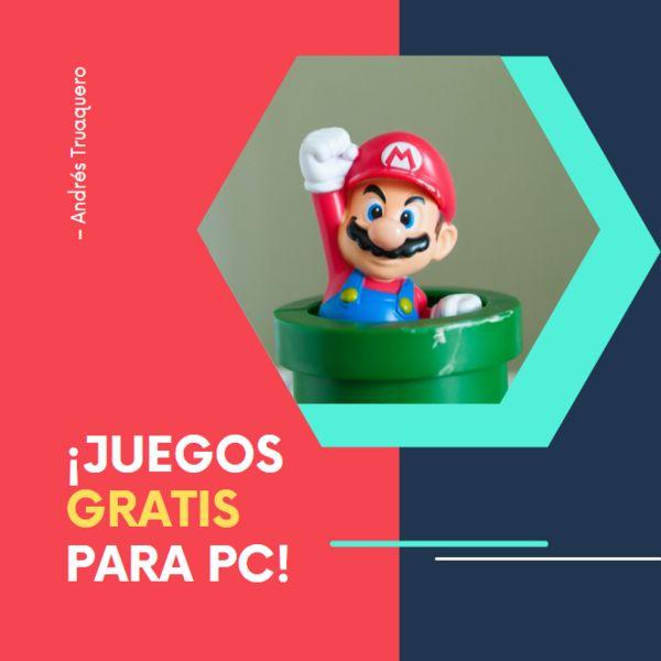 Imagem principal do produto Obtener juegos GRATIS en PC.