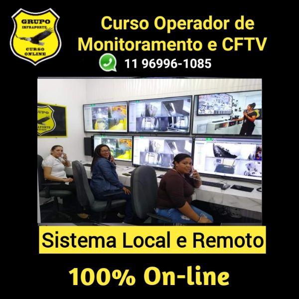 Imagem principal do produto CURSO DE OPERADOR DE MONITORAMENTO E CFTV