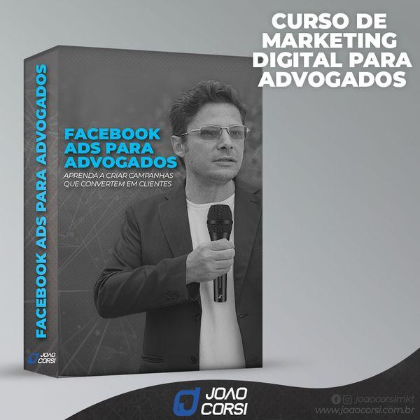 Imagem principal do produto Curso de Facebook/Instagram ADS para Advogados.