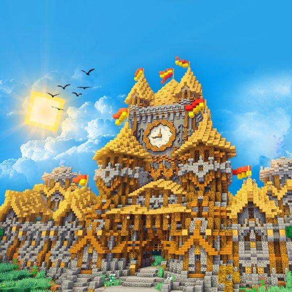 Imagem principal do produto Faça Construções Incríveis no Minecraft