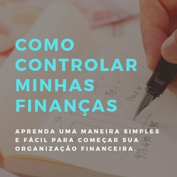 Imagem principal do produto Como controlar minhas finanças