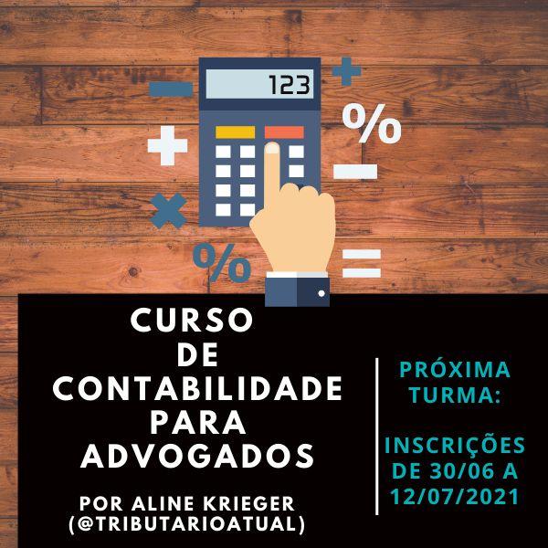 Imagem principal do produto CURSO DE CONTABILIDADE PARA ADVOGADOS