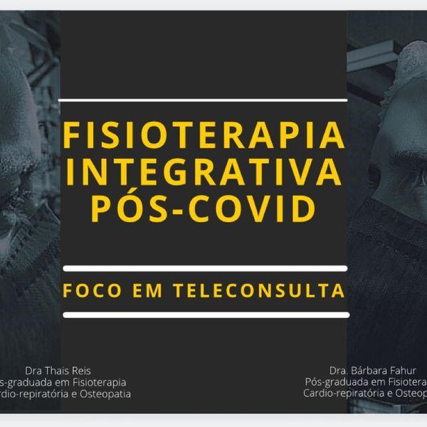 Imagem principal do produto CURSO DE FISIOTERAPIA INTEGRATIVA NA ATENÇÃO PÓS COVID