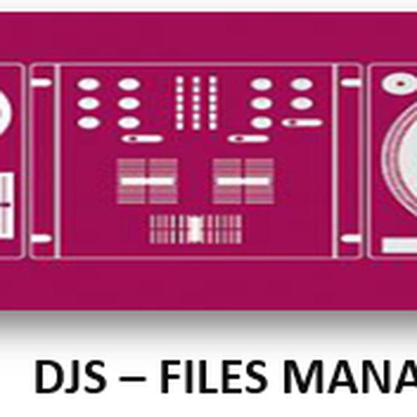 Imagem principal do produto DJ´s File Manager - Planilha Excel