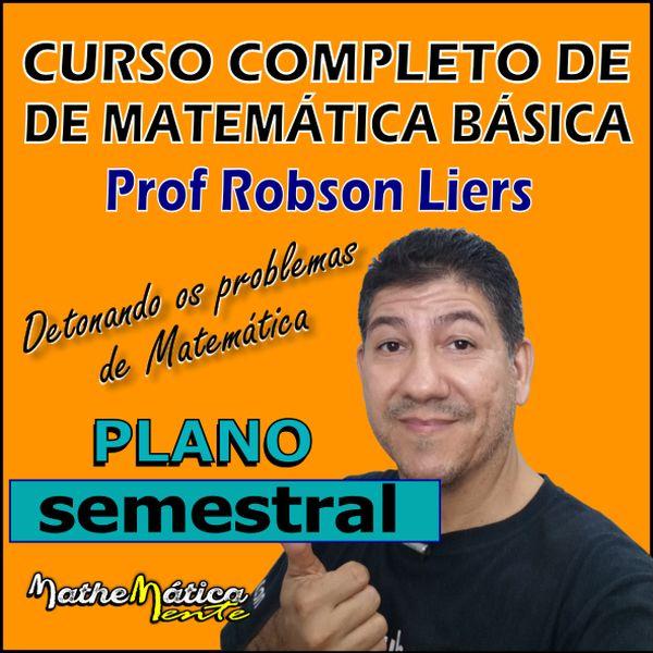 Imagem principal do produto CURSO COMPLETO DE MATEMÁTICA BÁSICA - PLANO SEMESTRAL