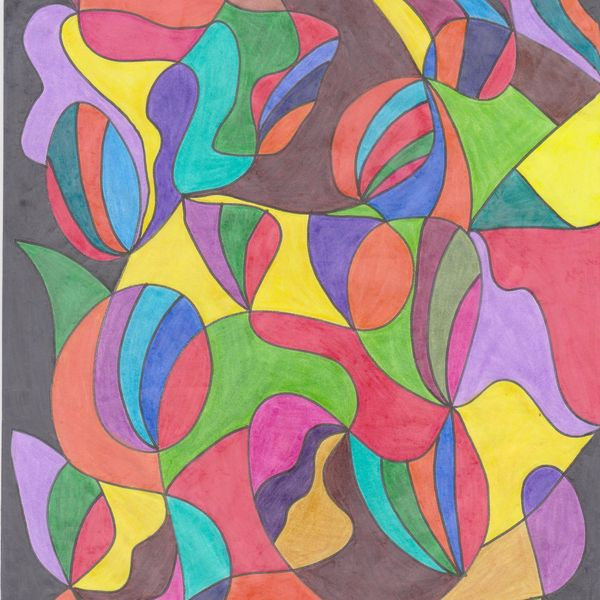 Imagem principal do produto Desenho Abstrato