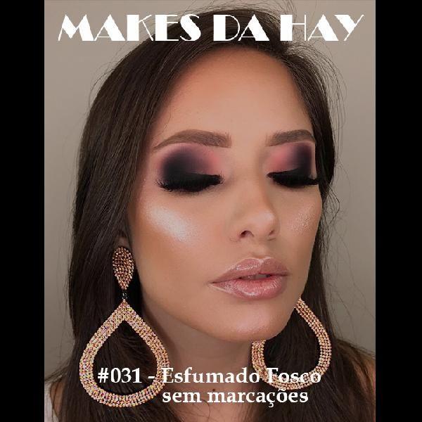 Imagem principal do produto Makes da Hay #031 - Esfumado fosco sem marcações
