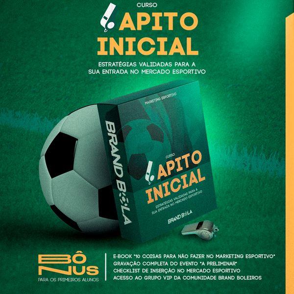 Imagem principal do produto Curso Apito Inicial - Aspirantes ao Mercado Esportivo