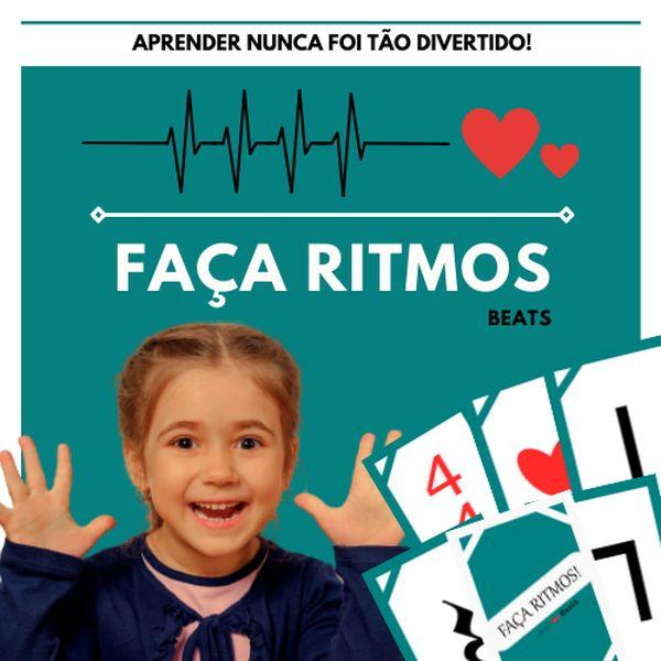 Imagem principal do produto Faça Ritmos! Jogo Musical