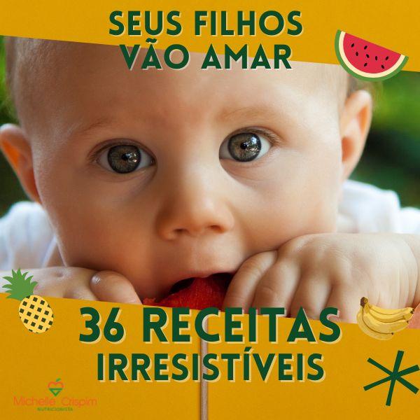 Imagem principal do produto 36 Receitas Irresistíveis para Crianças
