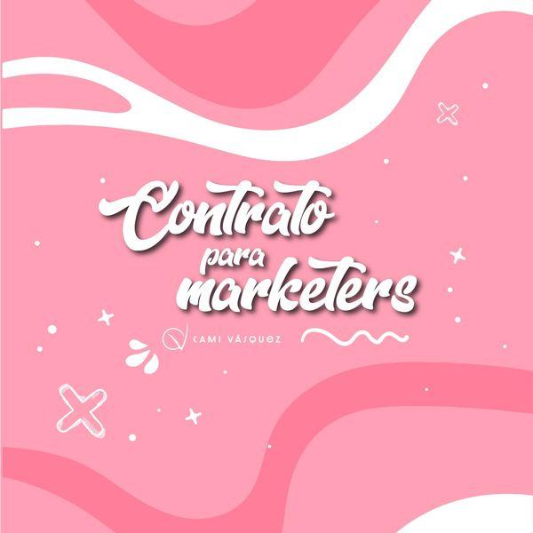 Imagem principal do produto Contrato para marketers
