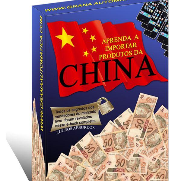 Imagem principal do produto APRENDA A IMPORTAR DA CHINA (PLR)