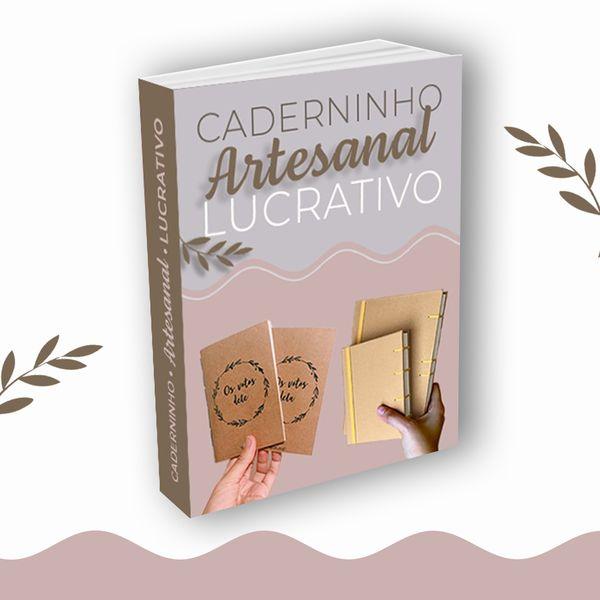 Imagem principal do produto Caderninho Artesanal Lucrativo