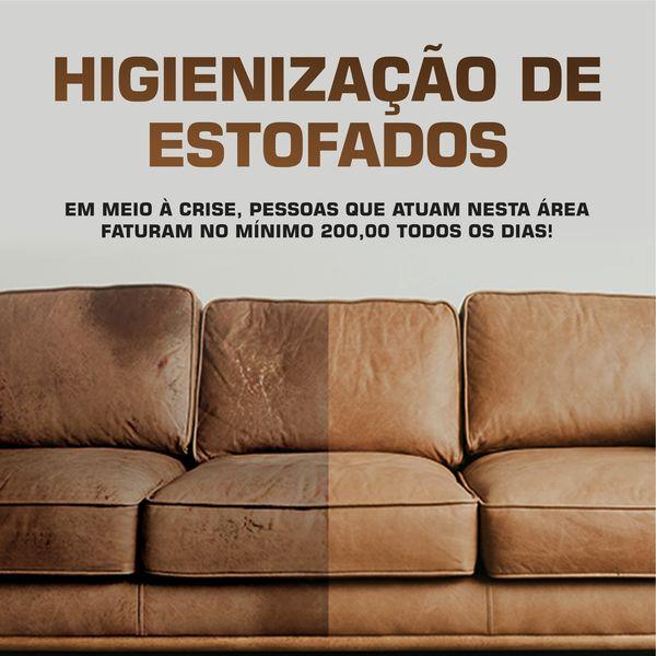 Imagem principal do produto Curso de Higienização de Estofados Profissional + Bônus - Faça sua primeira venda!