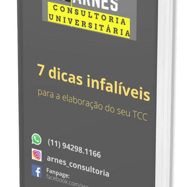 Imagem principal do produto 7 dicas infalíveis para a elaboração do seu TCC