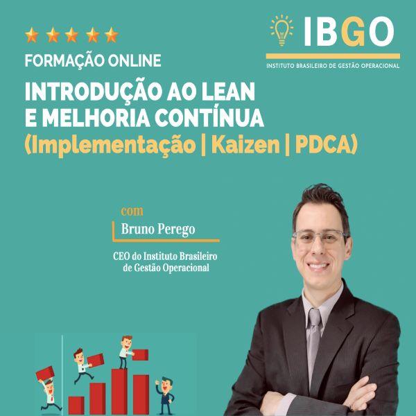 Imagem principal do produto INTRODUÇÃO AO LEAN E MELHORIA CONTÍNUA
