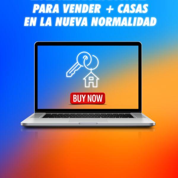 Imagem principal do produto Cómo generar ventas para tus propiedades a través de internet con estrategia digital inmobiliaria.