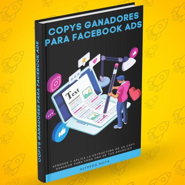 Imagem principal do produto Ebook Copys Ganadores Para Facebook Ads