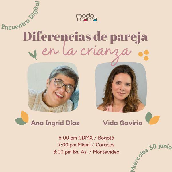 Imagem principal do produto Encuentro Digital: Diferencias de pareja en la crianza