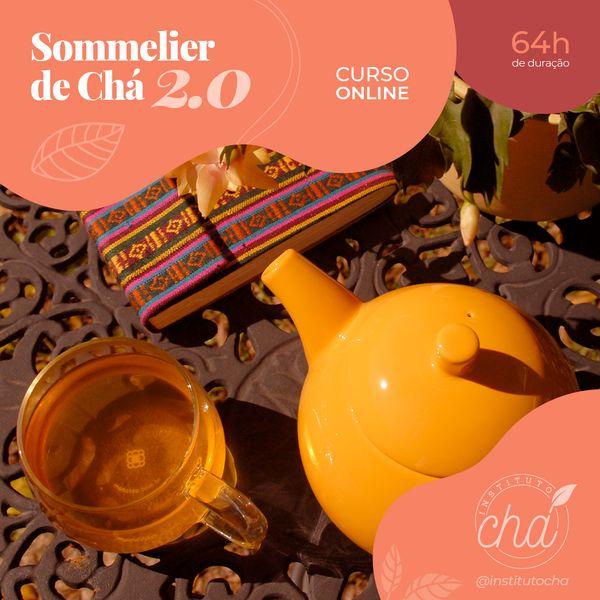 Imagem principal do produto Formação em Sommelier de Chá 2.0 - 64h (Turma 2021)