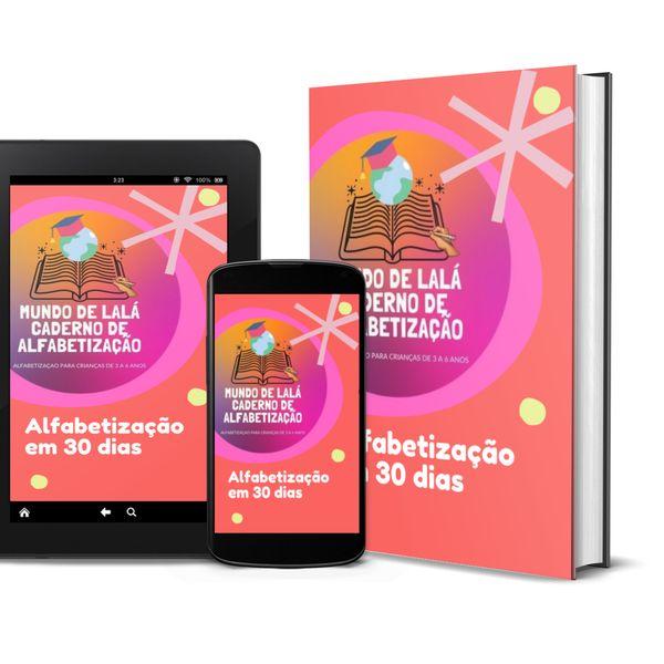 Imagem principal do produto CADERNO DE ALFABETIZAÇÃO MUNDO DE LALÁ
