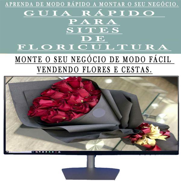 Imagem principal do produto Guia Rápido para sites de Floricultura