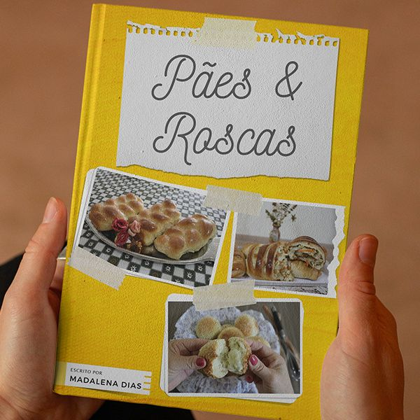 Imagem principal do produto Ebook Pães e Roscas