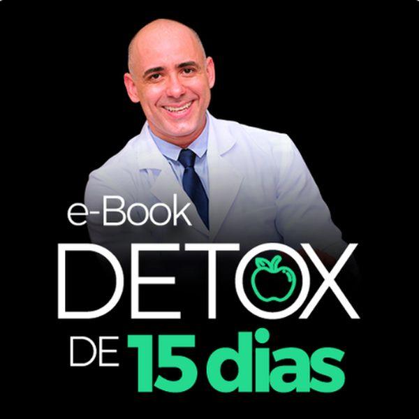 Imagem principal do produto Ebook Detox de 15 Dias