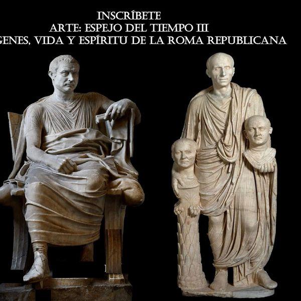 Imagem principal do produto ARTE: ESPEJO DEL TIEMPO III: IMÁGENES, VIDA Y ESPÍIRITU EN LA ROMA REPUBLICANA