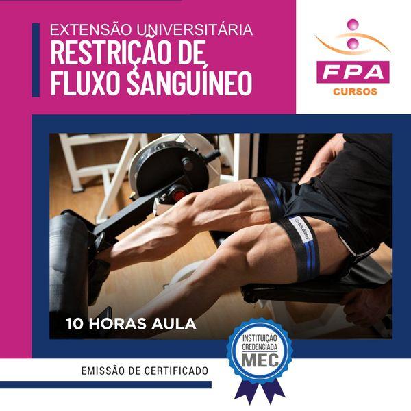 Imagem principal do produto Extensão Universitária: Restrição de Fluxo Sanguíneo - (oclusão vascular)- online - Mestre Gessé Dias CREF 22727-G/SP