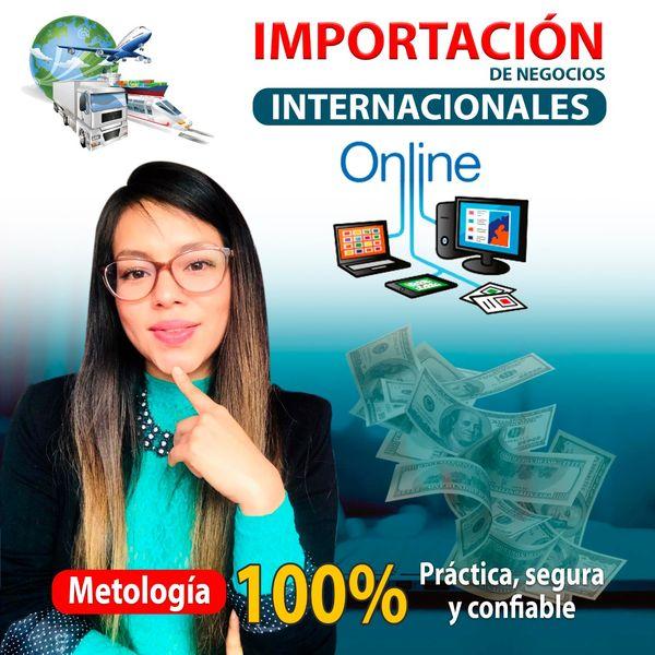Imagem principal do produto Importación de Negocios Internacionales online