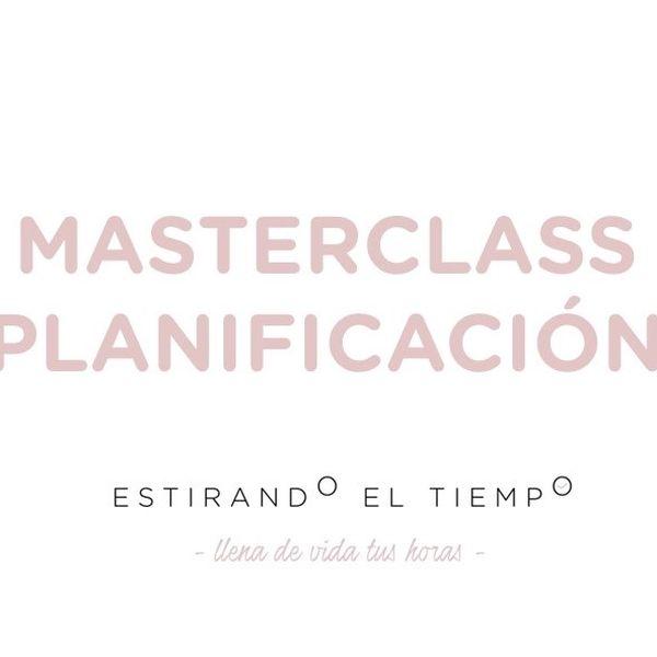 Imagem principal do produto Masterclass Planificación