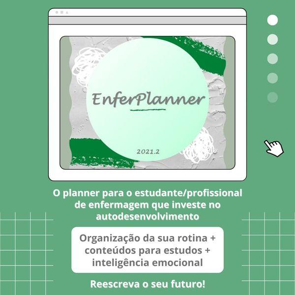 Imagem principal do produto EnferPlanner - o Planner para o Enfermeiro do amanhã.