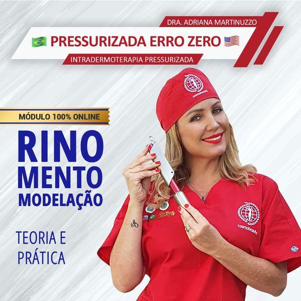 Imagem principal do produto Rinomentomodelaçāo Pressurizada | Adriana Martinuzzo com Certificação Doutoras da Beleza®.