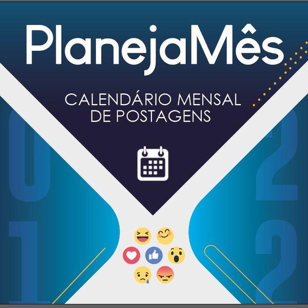Imagem principal do produto Calendário PlanejaMês