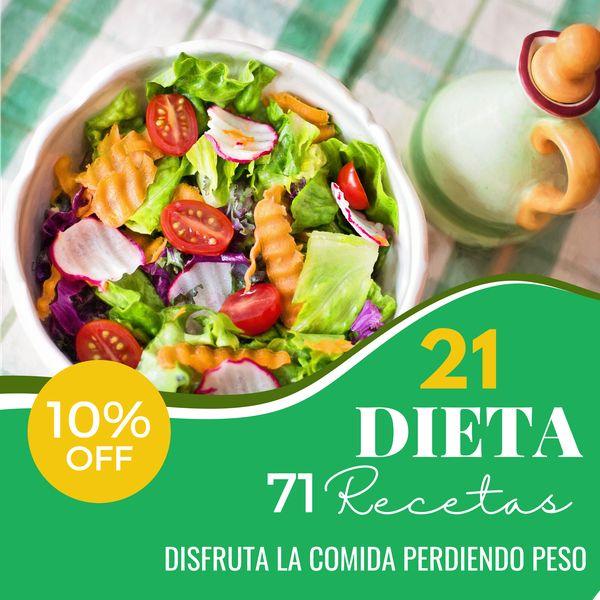 Imagem principal do produto Dieta 21 Días de Habito Saludable