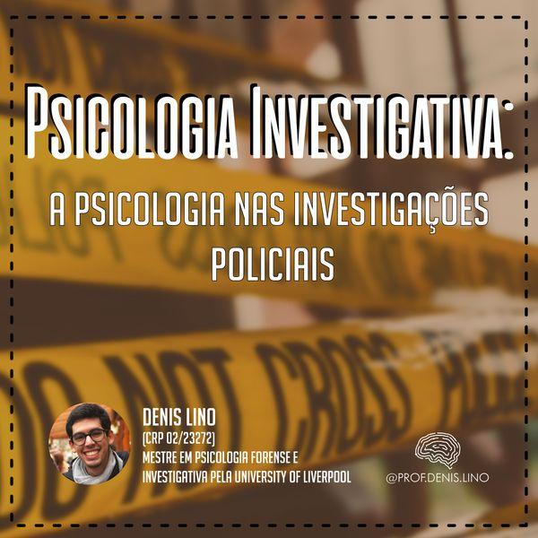 Imagem principal do produto Curso Psicologia Investigativa